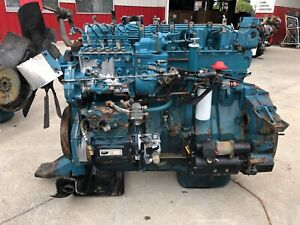 1994 International Dt466 Mechanical Diesel Engine Running Take Out