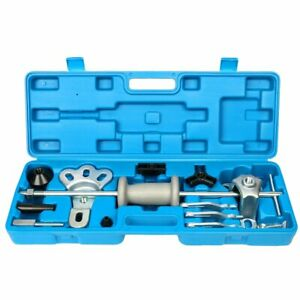 Slide Hammer Axle hub dent bearing gear Puller Tool Set W 5 8 18 Attachments