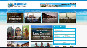Travel Guides Affiliate Product Website 100 Automated premium Designed