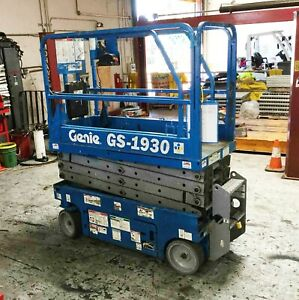 Genie Gs 1930 Used Electric Scissor Lift