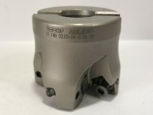 Iscar Used Ff Fwx D2 00 04 0 75 08 Indexable End Mill For Carbide Inserts