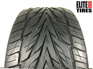 1 Toyo Proxes Stiii P315 35r20 315 35 20 Tire Driven Once