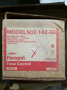 Invensys 502 142 00 Amf Paragon Time Control 120v Timing Motor And Clutch