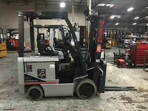 Nissan Bxc50n Used Electric Sit Down Forklift