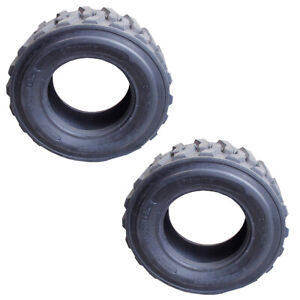 2 12x16 5 Skid Steer 12ply Tires For Bob cat Cat Deere Case New Holland