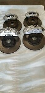 Mercedes W211 W219 E63 Cls63 Amg Brembo Brake Caliper Calipers Rotors Set Oem