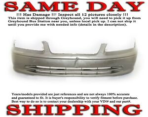 Oem 2000 2001 Toyota Camry Front Bumper Cover 00 01 Ships W Greyhound
