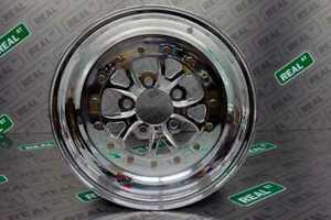 Weld Racing Wheel 15x10 V Series Polished 5x4 5 5x114 3 Lug 8bs
