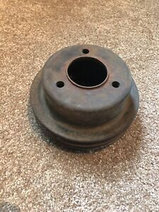 1965 1966 Original Ford Mustang Fairlane 289 With Ac Crankshaft Pulley C5oe A