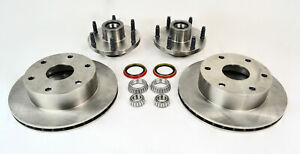 Mustang Ii Big 11 Disc Brake Rotors 6 Lug Bolt Pattern With Bearing Kit