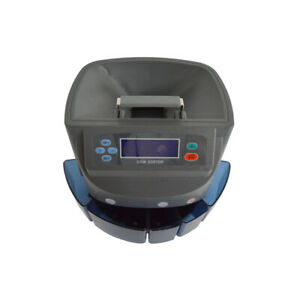 Coin Sorting Machine Coin Counter Convenient Operation 110v 60hz Xd 9002 New