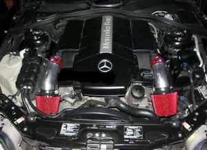 Dual Twin Air Intake Kit For 1999 2005 Mercedes Benz S320 3 2l V6 S430 4 3l V8