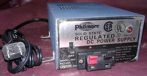 Philmore Ps124a Regulated Dc Power Supply 13 8v 3amp Continuous 5amp Surge