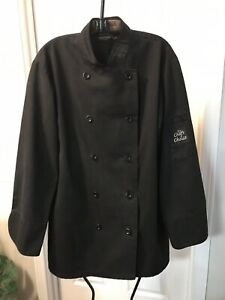 Chefs Choice Small Black Chefs Jacket Pre owned Qty 5 In Set