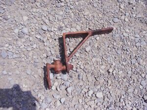 Ac Allis Chalmers Wd 45 Tractor Fender Brace Bracket Piece Light Sign Etc