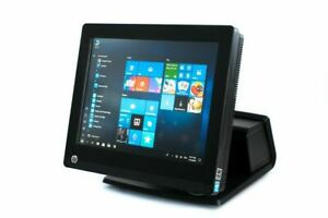 Hp Pos Touch Computer Ssd Core I5 Win 10 Rp7800