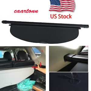 Rear Trunk Cover For 2014 2019 Nissan Rogue Luggage Security Cargo Shade Area