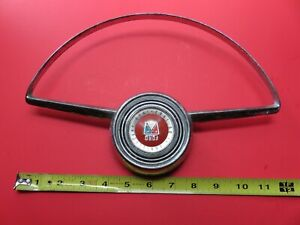 Vintage 1953 Ford 50th Anniversary Steering Wheel Horn Ring Button 1903 1953