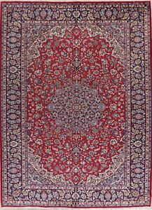 Traditional Area Rug Wool Hand Knotted Oriental Floral 10x13 Medallion Carpet