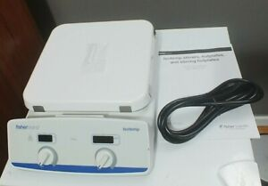 Fisher Scientific Isotemp Hot Plate Magnetic Stirrer 10 x10 Sp88850200 Warranty