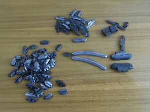 Vintage Lot Of 79 Clip On Lead Wheel Weights 6 4 1 5 Oz