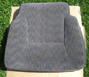 98 01 Dodge Ram 1500 2500 Front Original Driver Lower Seat Cover Extended Cab