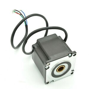 Nema23 56mm Hollow Shaft Stepper Motor For Bespoke Ball Screw Or Lead Screw