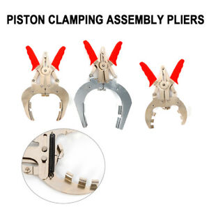 New Universal 3 Piston Ring Installer Remover Pliers Expander Hand Tool 40 160mm
