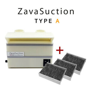 Soldering Smoke Absorber Remover Fume Extractor Fan Zavasuction Type A