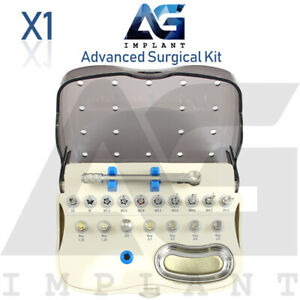 Advanced Kit Dental Implant Surgical Tool Instrument Drills Drivers Internal Hex