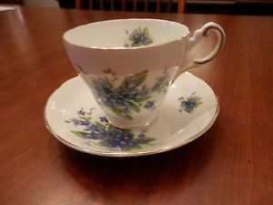 Regency English Bone China Cup Saucer England