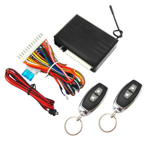Car Remote Control Central Kit Main Unit Remotely Lock And Unlock Your Auto