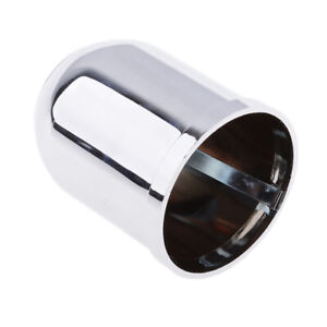 50mm Car Towbar Towball Plastic Cap Tow Ball Towing Protective Cover Chrome