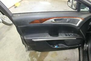 2015 16 Lincoln Mkz Front Driver Left Lh Black Door Panel Trim Card