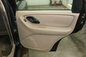 2005 06 Ford Rear Passenger Right Rh Tan Door Panel Trim Card