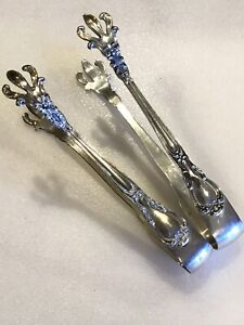 1 One Gorham Chantilly Sterling Silver 4 Sugar Tongs