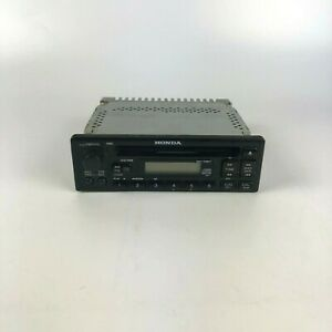 2000 Honda Civic Radio Oem 39100 s02 a000 Untested