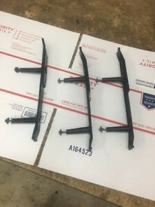 80 96 Ford Tailgate Trim Panel Bracket Set 92 96 F150 Tail Gate Trim Brackets