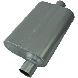 Flowmaster Super 44 Series Muffler 409s 2 25 Offset In 2 25 Center Out Aggre