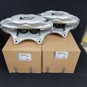 2004 07 Cadillac Cts V Brembo 4 Piston Front Calipers Set