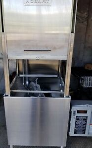Hobart Am 14 Pass Thru Commercial Dishwasher Dish Machine 3 Phase Electric