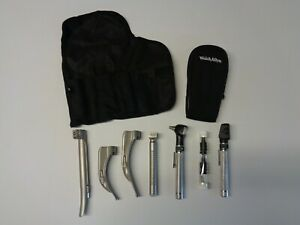 Welch Allyn Otoscope Opthalomscope Diagnostic Set 95001 W Rusch Blades