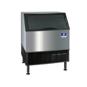 Manitowoc Uyf 0310a 290 Lb Air Cooled Neo Undercounter Half Dice Ice Maker