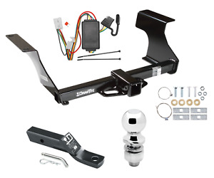 Trailer Tow Hitch For 09 13 Subaru Forester Complete Package W Wiring 2 Ball