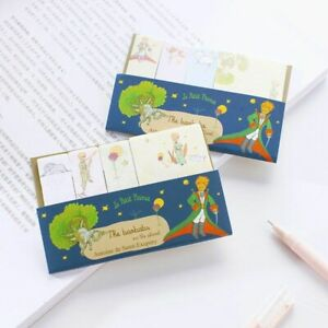 Sticky Notes Memo Pad Cartoon Little Prince Design Bookmarker School 30 Pcs lot