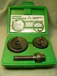 Greenlee Slug Buster 7237bb Knockout Punch Set