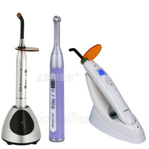 Usps Dental Wireless Cordless Led Curing Light Lamp 1600 2000 2700mwm cm
