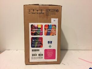 1 Can Hp Indigo Electroink Q4035a Pink Fluorescent For Press 1000 2000