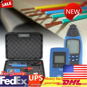 Wire Cable Fault Locator Meter Underground General Wire Finder Tester Us