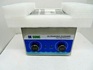 Dk Sonic 3 2l 120w Ultrasonic Parts Cleaner With Heater Basket 40khz